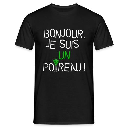 Je suis un poireau (bl) - T-shirt Homme