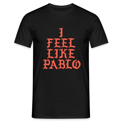 PABLO2 png - Men's T-Shirt