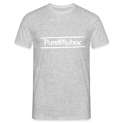 Logo text wit png - Mannen T-shirt