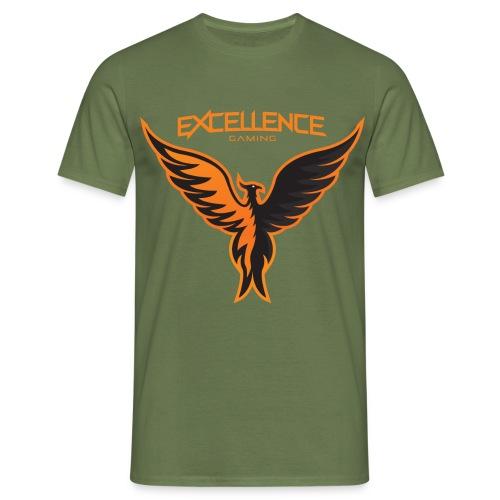 Logo Phoenix Typo Orange - T-shirt Homme