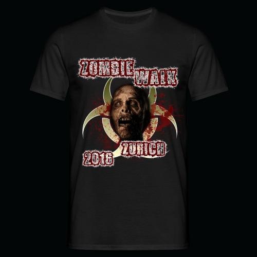 shirt zombie walk2 png - Männer T-Shirt
