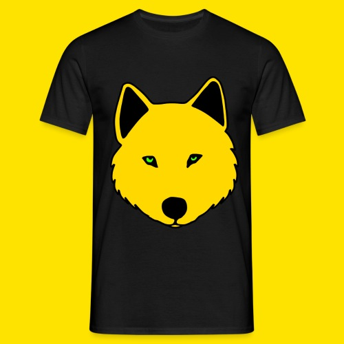 Jasja The Wolf - Men's T-Shirt