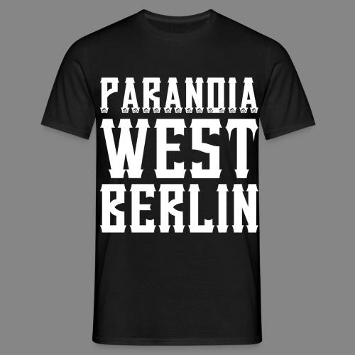 Paranoia 2016 png - Männer T-Shirt