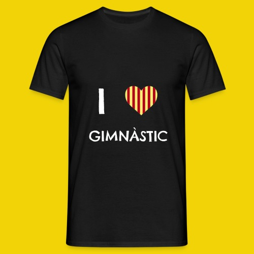 I Love Gimnastic - Men's T-Shirt