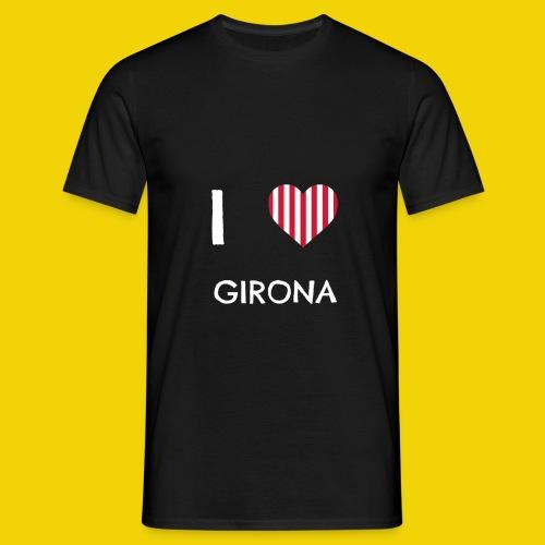 I Love Girona - Men's T-Shirt