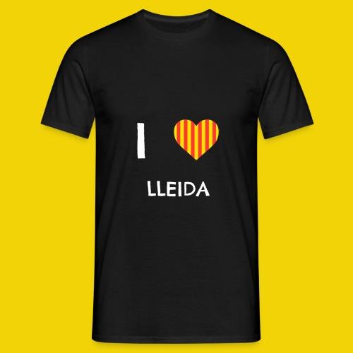 I Love Lleida - Men's T-Shirt
