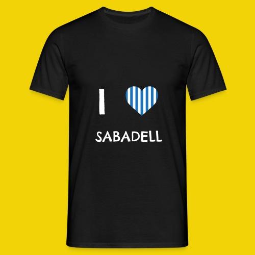 I Love Sabadell - Men's T-Shirt