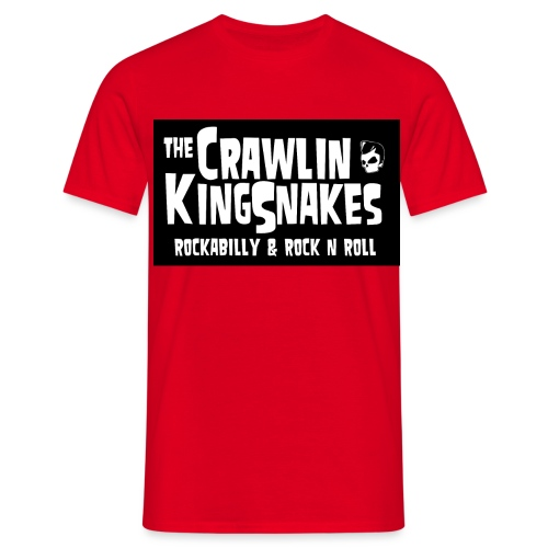 CKS Logo whiteonblack - Men's T-Shirt