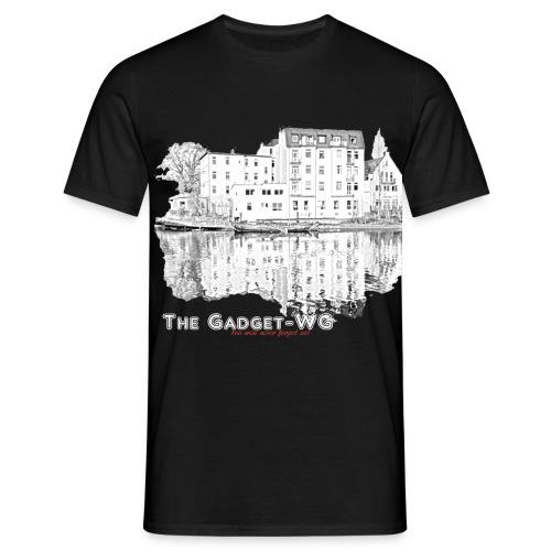 MIt Schrft für schwarz png - Männer T-Shirt