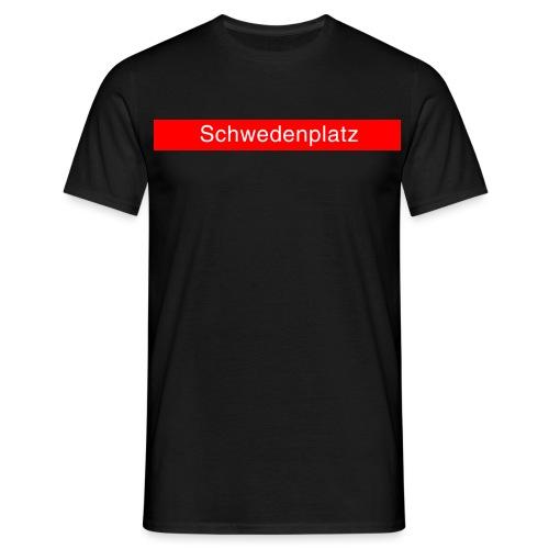 Schwedenplatz - Männer T-Shirt