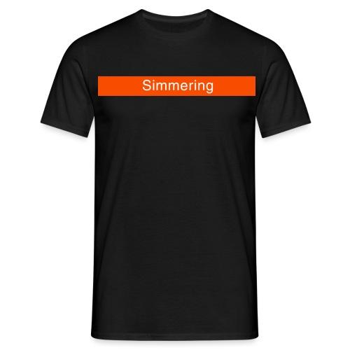 Simmering - Männer T-Shirt