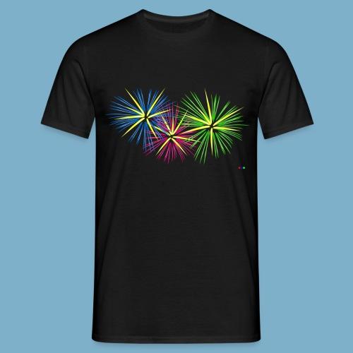 Fireworks Feuerwerk - Männer T-Shirt