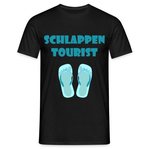 schlappen tourist men - Männer T-Shirt
