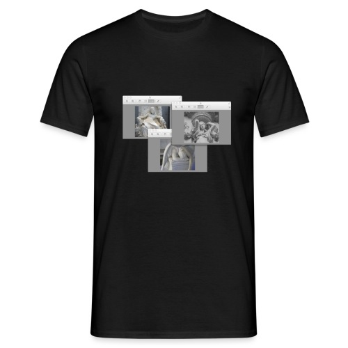 Girl Art Scape - Men's T-Shirt