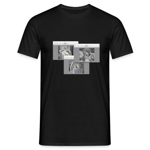 Girl Art Scape - Maglietta da uomo