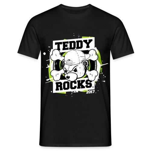 Teddy Rocks (Final_Revers - Men's T-Shirt