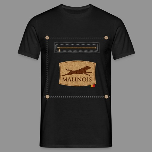 Belgian shepherd Malinois - Men's T-Shirt