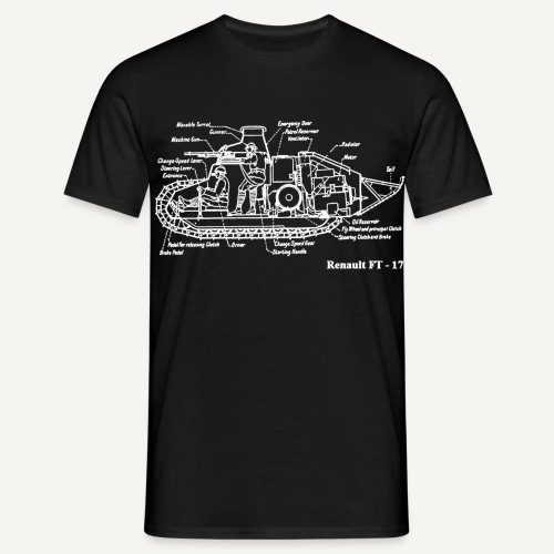 ft17b - Koszulka męska