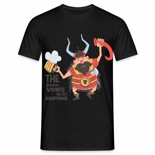 Drunken Viking - Männer T-Shirt