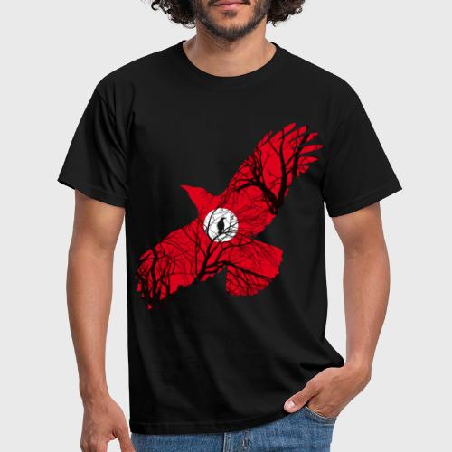 Corbeau Rouge - T-shirt Homme