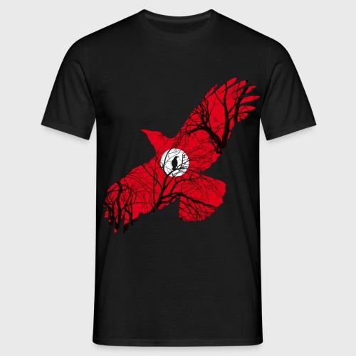 Corbeau Rouge - T-shirt Homme