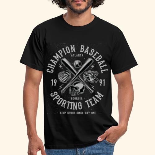 Champion-Baseball - Men's T-Shirt
