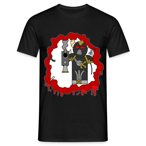 blast damage evil - Men's T-Shirt