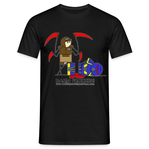 damn proxies - Men's T-Shirt