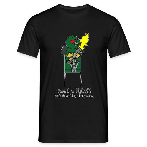 Need A Light - Men's T-Shirt