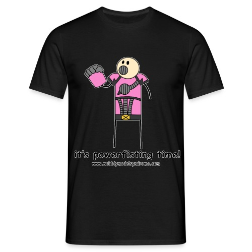 It s Powerfisting Time - Men's T-Shirt
