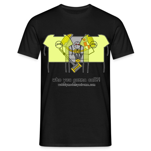 Who You Gonna Call - Men's T-Shirt
