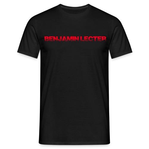 schriftzug r ohneh - Männer T-Shirt