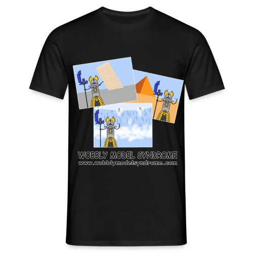 the traveller - Men's T-Shirt