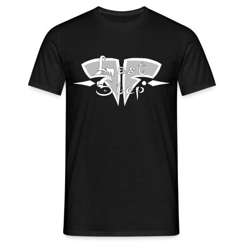 white last step logo - T-shirt Homme