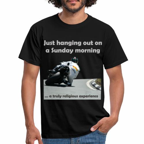 hanging out - Men's T-Shirt