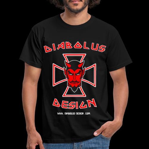 Diabolus Design Cross - Men's T-Shirt