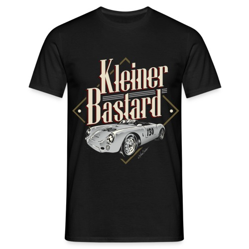 bastard only black tshirt - Männer T-Shirt