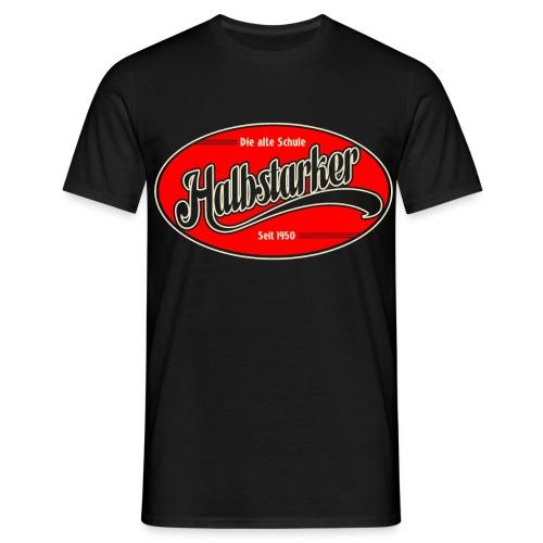 halbstarker only black - Männer T-Shirt