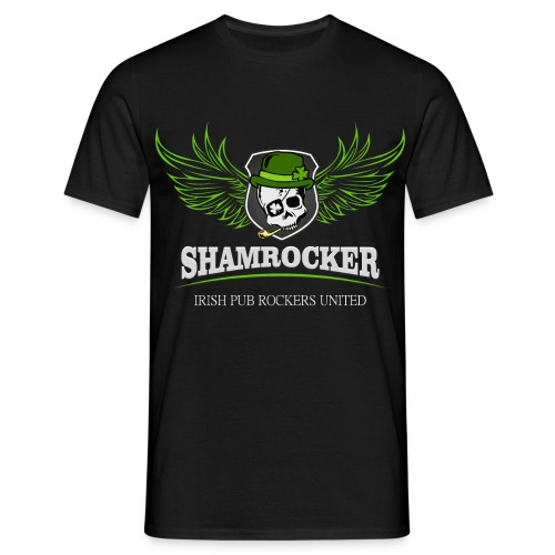 Shamrocker Flügel - Männer T-Shirt