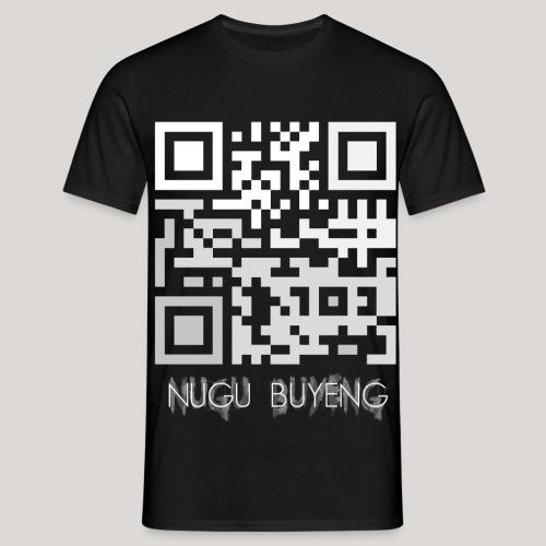 Wer das scannt ist doof 2 Nugu Buyeng - Männer T-Shirt