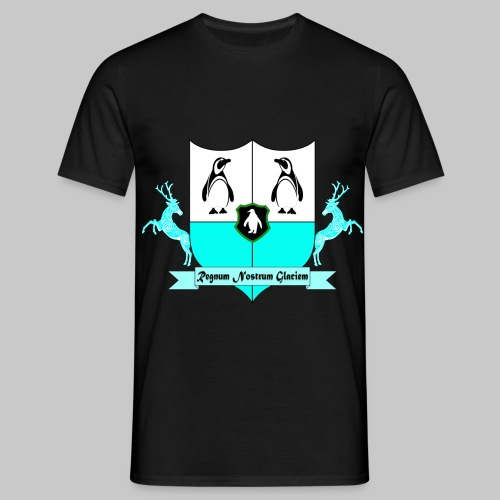 Antarticum Royal Crest - Men's T-Shirt