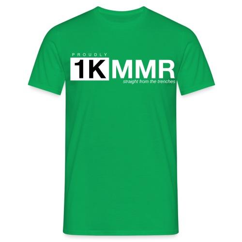 1k mmr black - Men's T-Shirt