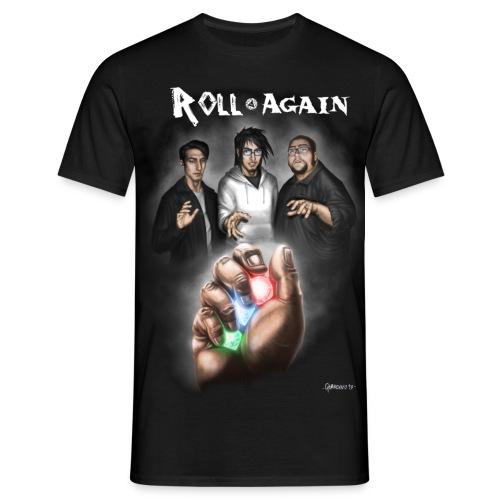 RollAgain0 png - Maglietta da uomo
