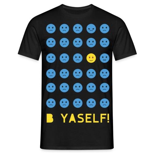 B Yaself - Men's T-Shirt