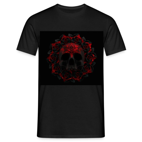 the skull - Camiseta hombre