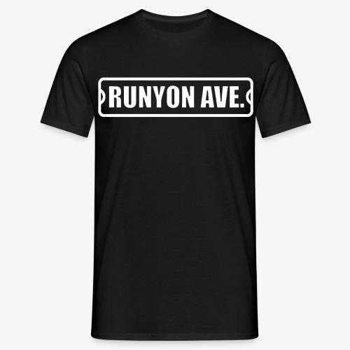 runyon ave - Men's T-Shirt
