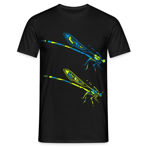 dragonfly by meganima - Männer T-Shirt
