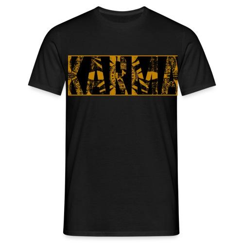 Karma Cover tshirt - T-shirt herr