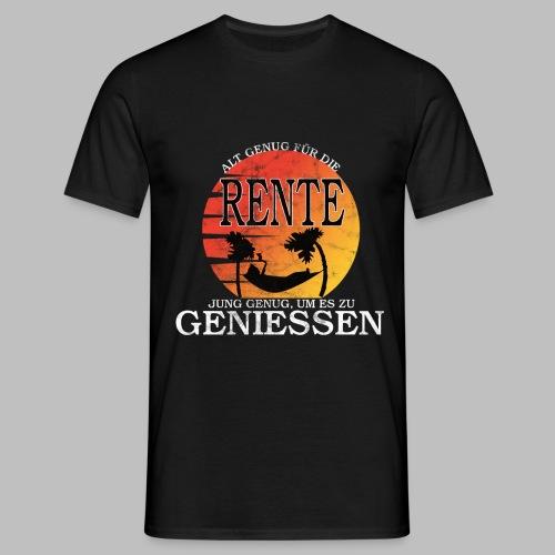 Rente 2020+ Rentenbeginn Geschenkidee - Männer T-Shirt