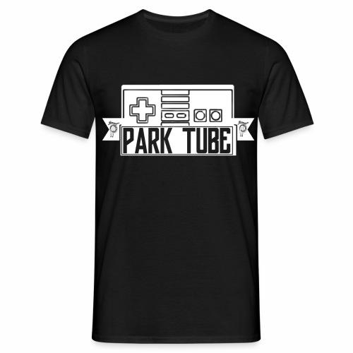 ParkTube Gaming Logo weiss - Männer T-Shirt